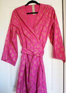 Plum Pretty Sugar reviews: 5 O'Clock at Rajasthan Palace, Kimono Robe