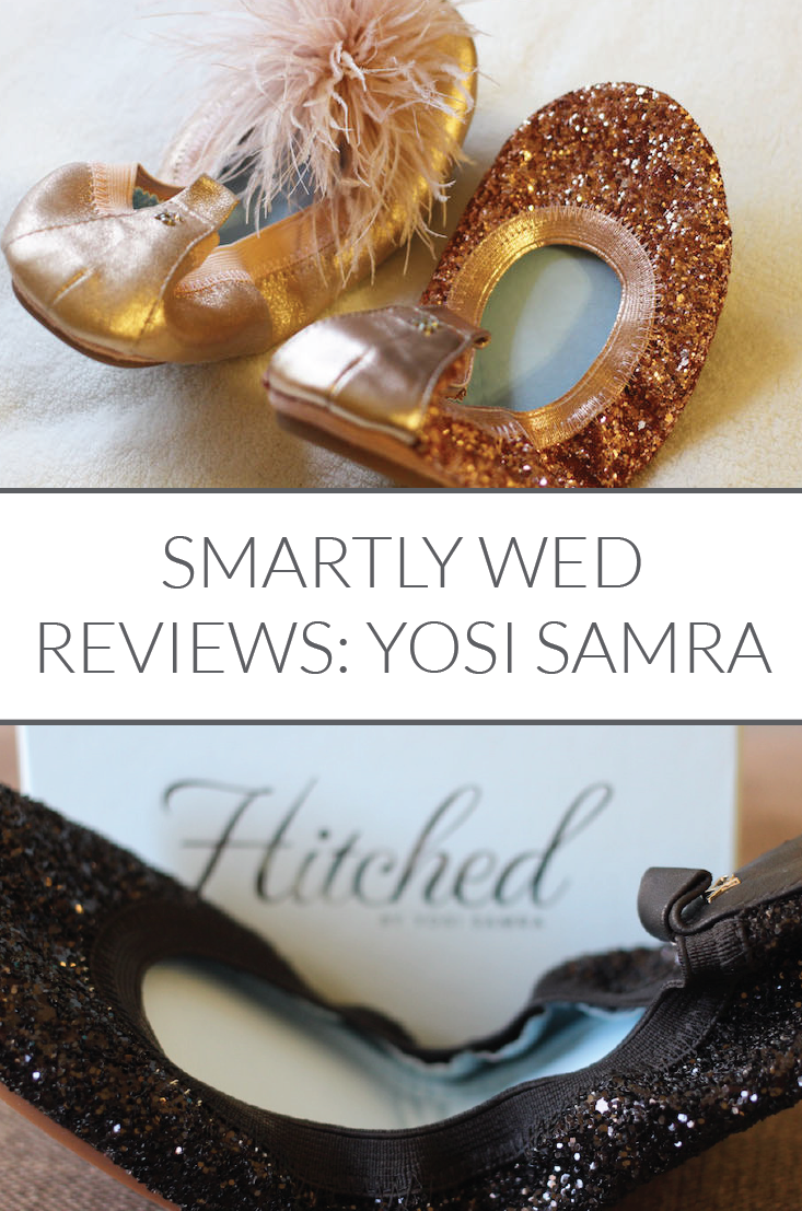 Reviews of Yosi Samra bridal flats (Samara, Serena, Marry Me Maribou), by Smartly Wed