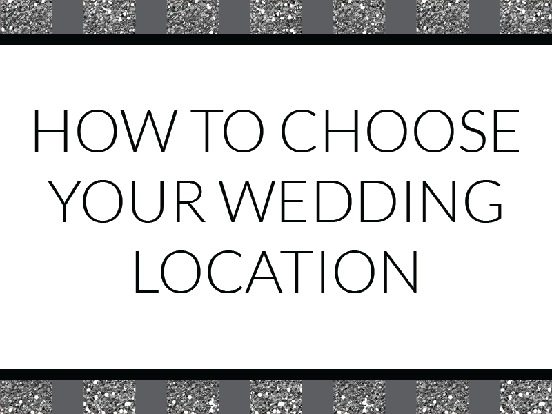 Destination wedding? Hometown wedding? We have the list of things to consider as you decide where in the world to get married!