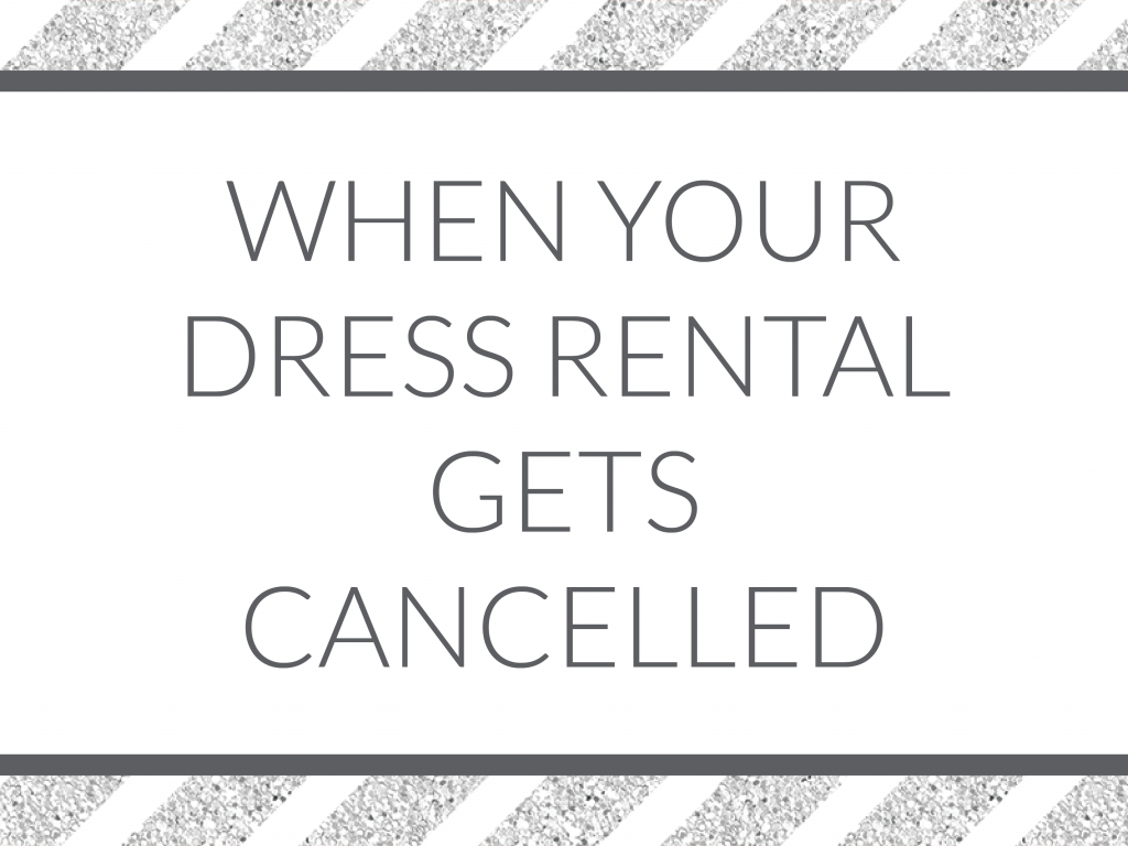 What happens when your dress rental gets cancelled right before your event? We're detailing the lessons learned when Kim's rehearsal dinner outfit was a no-show