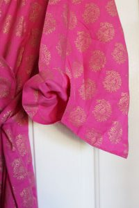 Plum Pretty Sugar reviews: 5 O'Clock at Rajasthan Palace, Kimono Robe