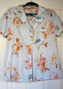 Plum Pretty Sugar reviews: Viviette Encounters a Lark, Pretty PJ Shirt