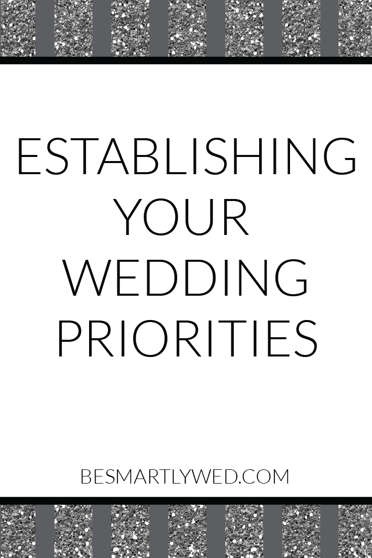 Our four-step process for setting your wedding spending priorities, once you have a budget