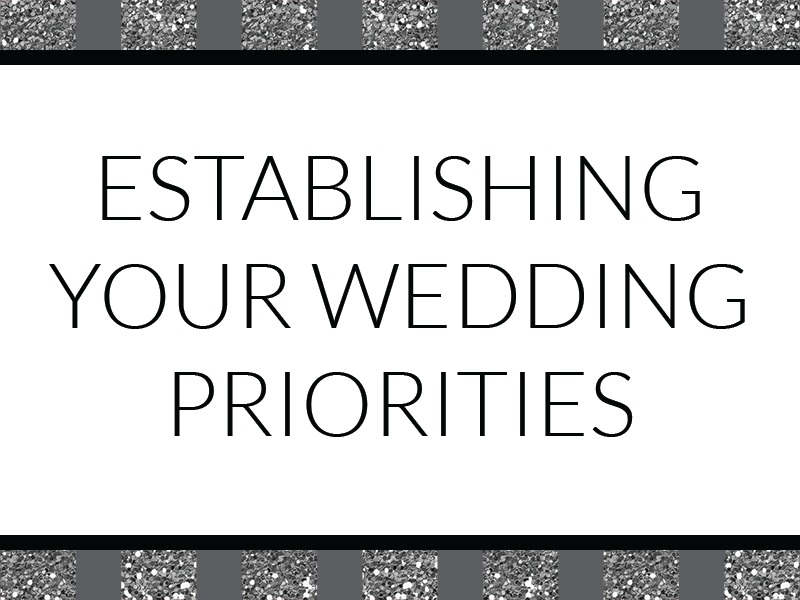How to set your wedding spending priorities once you have a budget