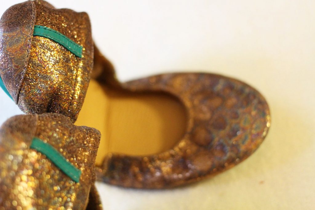 Tieks review - Lovestruck close up