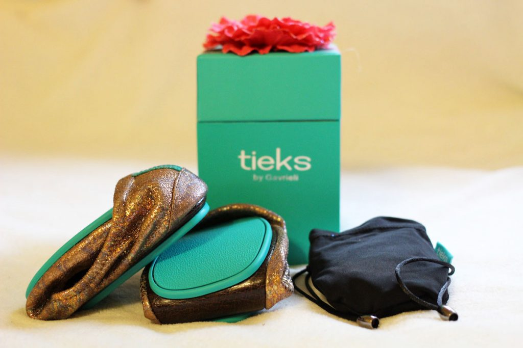 Tieks review - Lovestruck with box and carry bag