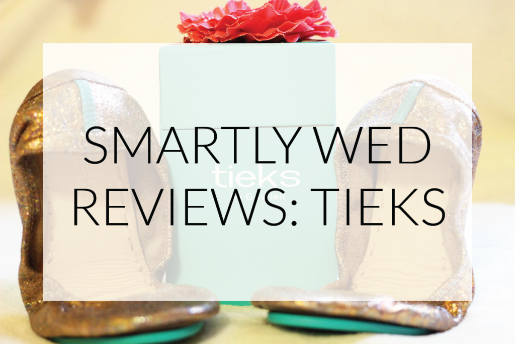 Considering Tieks for your wedding? Check out our review, including our thoughts on whether or not they're comfortable and durable!
