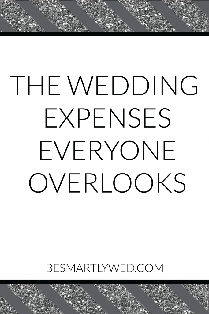 Don't make a major wedding budget blunder - we have a big list of wedding expenses that are usually left out of traditional wedding budget guides. Check out our full wedding budget series on the blog!