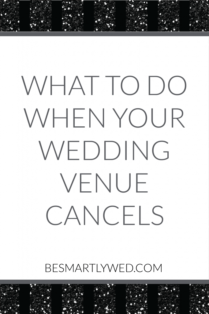 Dealing with a vendor or venue cancellation can be a nightmare for brides and grooms, but it doesn't have to be! Kim explains what happened when her venue closed, and what you should do if this happens to you.